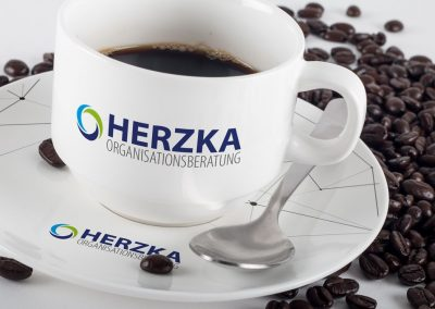 Herzka, Kaffeetasse