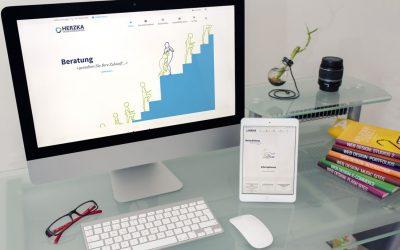 Redesign der Website von HERZKA GmbH Organisationsberatung