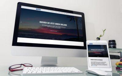 Redesign der Website von Lexa Wohnmobile AG